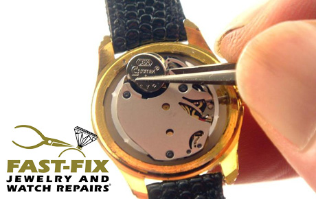Watch batteries deals woodfield mall schaumburg fast fix for Fast fix jewelry repair