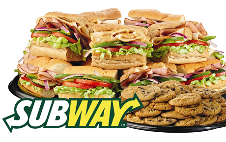 Subway coupons sandwich platter